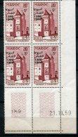 7541   MAROC  N° 412**  20 F + 5 F : Mahakma De Casablanca  Coin Daté  Du 21.10.59  TB/TTB - Morocco (1956-...)