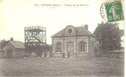 (10) Aube - CPA - Ormes - Place De La Mairie - France