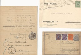 Allemagne Reich: 3 Cartes Postales - Lettres & Documents