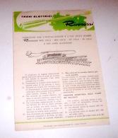 Modellismo Ferroviario Rivarossi Istruzione Installazione Uso Scambi MDS 120/A - Other
