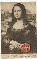 La Joconde De Leonard De Vinci Disparue Du Musée Du Louvre Le 21 Aout 1911 ELD Legers Plis - Belle-Arti