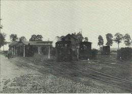 SNCV - Lanaken -- Dépôt  De  Tournebride  Vers  1900.   (2 Scans) - Lanaken