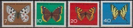 BRD 1962 MiNr.376 -379 ** Postfr. Jugend Schmetterlinge ( 6918 ) Günstige Versandkosten - BRD