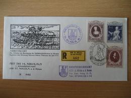 Österreich- St. Nikola A.d.Donau, 7. Sonderpostamt 6.12.80, Satz Maria Theresia Auf Beleg Nr. 0462 - 1945-.... 2. Republik