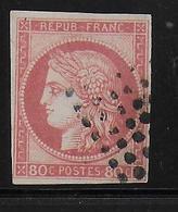 COLONIES GENERALES  - YVERT N° 21 ROSE VIF OBLITERE - COTE = 170 EUR - Cérès