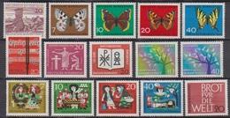 BRD 1962 MiNr.375 -389 ** Postfr. Jahrgang Komplett ( 6921 ) Günstige Versandkosten - BRD