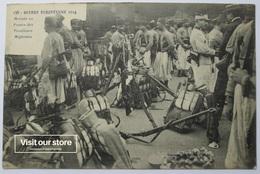 CARTE POSTALE - GUERRE EUROPEENNE 1914 (Nº 138) - ARRIVE EN FRANCE DES TIRAILLEURS ALGERIENS - UNCIRCULATED - WW1 - Guerra 1914-18