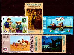 Nicaragua-0102 - Emissione 1976 - Senza Difetti Occulti. - Nicaragua