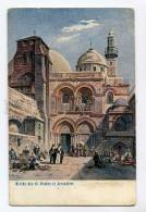 3053353 Jerusalem Church Of Holy Sepulchre Vintage Postcard - Palestine