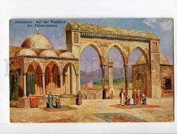 3053355 Jerusalem Platform Of Cathedral Of Rock Old - Palestine