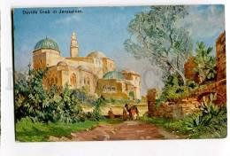 3053356 David's Tomb In Jerusalem Vintage PC - Palestine
