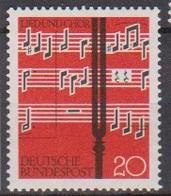 BRD 1962 MiNr.380  ** Postfr. Lied Und Chor ( 6927 ) Günstige Versandkosten - BRD