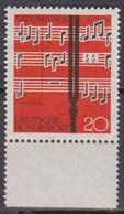 BRD 1962 MiNr.380  ** Postfr. Lied Und Chor ( 6928 ) Günstige Versandkosten - BRD