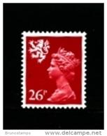 GREAT BRITAIN - 1982  SCOTLAND  26 P. MINT NH  SG  S49 - Regionali
