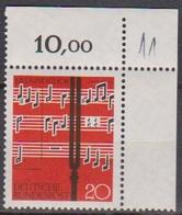 BRD 1962 MiNr.380  ** Postfr. Lied Und Chor ( 6929 ) Günstige Versandkosten - BRD