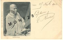 SRI LANKA / CEYLON / CEYLAN - COLOMBO - BUDHIST PRIEST - Sri Lanka (Ceylon)