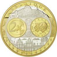 Belgique, Médaille, L'Europe, 2005, SPL+, Argent - Belgique