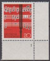 BRD 1962 MiNr.380 Formnr. ** Postfr. Lied Und Chor ( 6930 ) Günstige Versandkosten - BRD