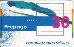 PERU - Sky Jump, BellSouth Prepaid Card S/. 30, Exp.date 03/07, Used - Peru
