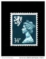 GREAT BRITAIN - 1989  SCOTLAND  34 P.  MINT NH   SG  S78 - Regionali