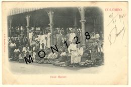 SRI LANKA / CEYLON / CEYLAN - COLOMBO - FRUIT MARKET - Sri Lanka (Ceylon)