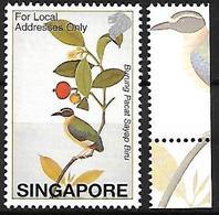 Singapore 2002 - MNH - Blue-winged Pitta (Pitta Moluccensis) - Zangvogels