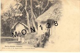 SRI LANKA / CEYLON / CEYLAN - COLOMBO - NATIVE HOUSES - Sri Lanka (Ceylon)