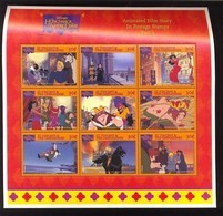 #  M-558-2*   MINT NEVER HINGED MINI SHEET OF DISNEY    (  ST.VINCENT  & GR   1996 - Disney