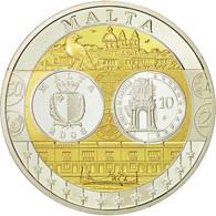 Malte, Médaille, L'Europe, Auberge De Castille, 2008, SPL+, Argent - Other