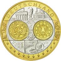 Allemagne, Médaille, L'Europe, 2002, SPL+, Argent - Allemagne