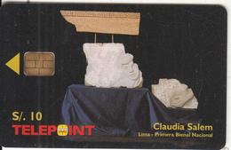 PERU - Sky Jump, BellSouth Prepaid Card S/. 30, Exp.date 02/03, Used - Peru