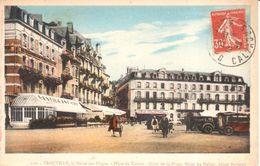 (14) Calvados - CPA - Trouville-sur-Mer - La Reine Des Plages - Place Du Casino - Trouville