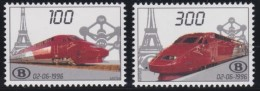 Belgie    .   OBP  .    TRV  1/2      .   **  .     Postfris  ZONDER  Charnier   .  /  .  Neuf  SANS Charniere - Chemins De Fer