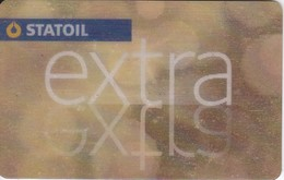TARJETA DE GASOLINERA STATOIL (no Es Tarjeta Telefonica) PETROLEO - Oil