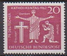 BRD 1962 MiNr.381 ** Postfr. Deutscher Katholikentag, Hannover ( 6935 ) Günstige Versandkosten - BRD
