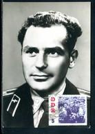 Allemagne - Carte Maximum 1962 - Major German Stepanowitsch Titow - [6] République Démocratique