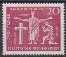 BRD 1962 MiNr.381 ** Postfr. Deutscher Katholikentag, Hannover ( 6936 ) Günstige Versandkosten - BRD