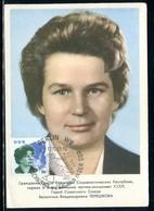 Allemagne - Carte Maximum 1963 - Valentina Terechkova - DDR