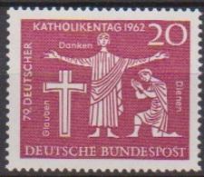 BRD 1962 MiNr.381 ** Postfr. Deutscher Katholikentag, Hannover ( 6937 ) Günstige Versandkosten - BRD