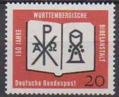 BRD 1962 MiNr.382 ** Postfr. 150 Jahre Württembergische Bibelanstalt ( 6939 ) Günstige Versandkosten - BRD