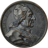Italie, Médaille, Etats Pontificaux, Clément XII, Canonisation Des 4 Saints - Other