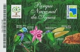 BRAZIL #3174 - TIJUCA NATIONAL PARK - BIRDS -  MNH - Brazil