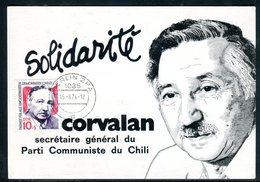 Allemagne - Carte Maximum 1974 - Corvalan - DDR