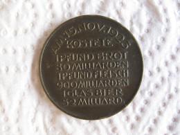 Médaille DES DEUTSCHEN VOLKES LEIDENSWEG  15 Novembre 1923 - Zonder Classificatie