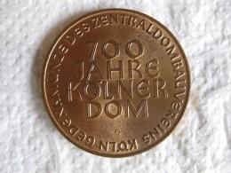 Medaille Bronze 700 JAHRE KÖLNER DOM 1948 – Cologne. - Allemagne