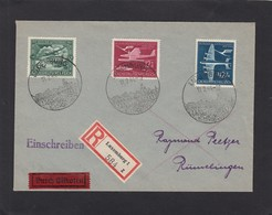 FDC 11-2-44.EINGESCHRIEBENER BRIEF NACH RÜMELINGEN. - 1940-1944 German Occupation