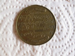 Medaille La Dame Blanche De BOIELDIEU – Rouen  - Musique Opéra  , Par Herluison - France