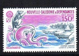 Sello Nº A-224 Nueva Caledonia - Roedores