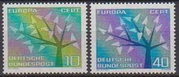 BRD 1962 MiNr.383 - 384 ** Postfr. Europa ( 6941 ) Günstige Versandkosten - BRD