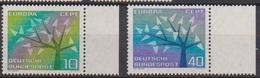 BRD 1962 MiNr.383 - 384 ** Postfr. Europa ( 6945 ) Günstige Versandkosten - BRD